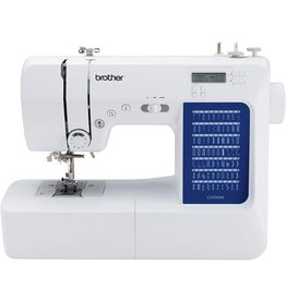 Brother Brother CS7000X Computerized Sewing and Quilting Machine, 70 Built-in Stitches, LCD Display, Wide Table, 10 Included Feet, White