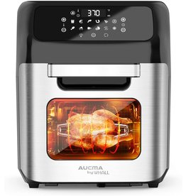 whall whall Air Fryer, 13QT Air Fryer Oven, Family Rotisserie Oven, 1700W Electric Air Fryer Toaster Oven, Tilt led Digital Touchscreen, 12-in-1 Presets for Baking, Roasting, Dehydrating, with Accessories