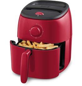 DASH Dash Tasti-Crisp Electric Air Fryer + Oven Cooker with Temperature Control, Non-stick Fry Basket, Recipe Guide + Auto Shut Off Feature, 1000-Watt, 2.6 Quart - Red