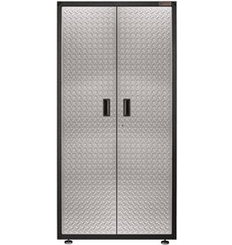 Gladiator Gladiator GALG36KDYG Ready-To-Assemble Gearbox Steel Cabinet, Silver Tread