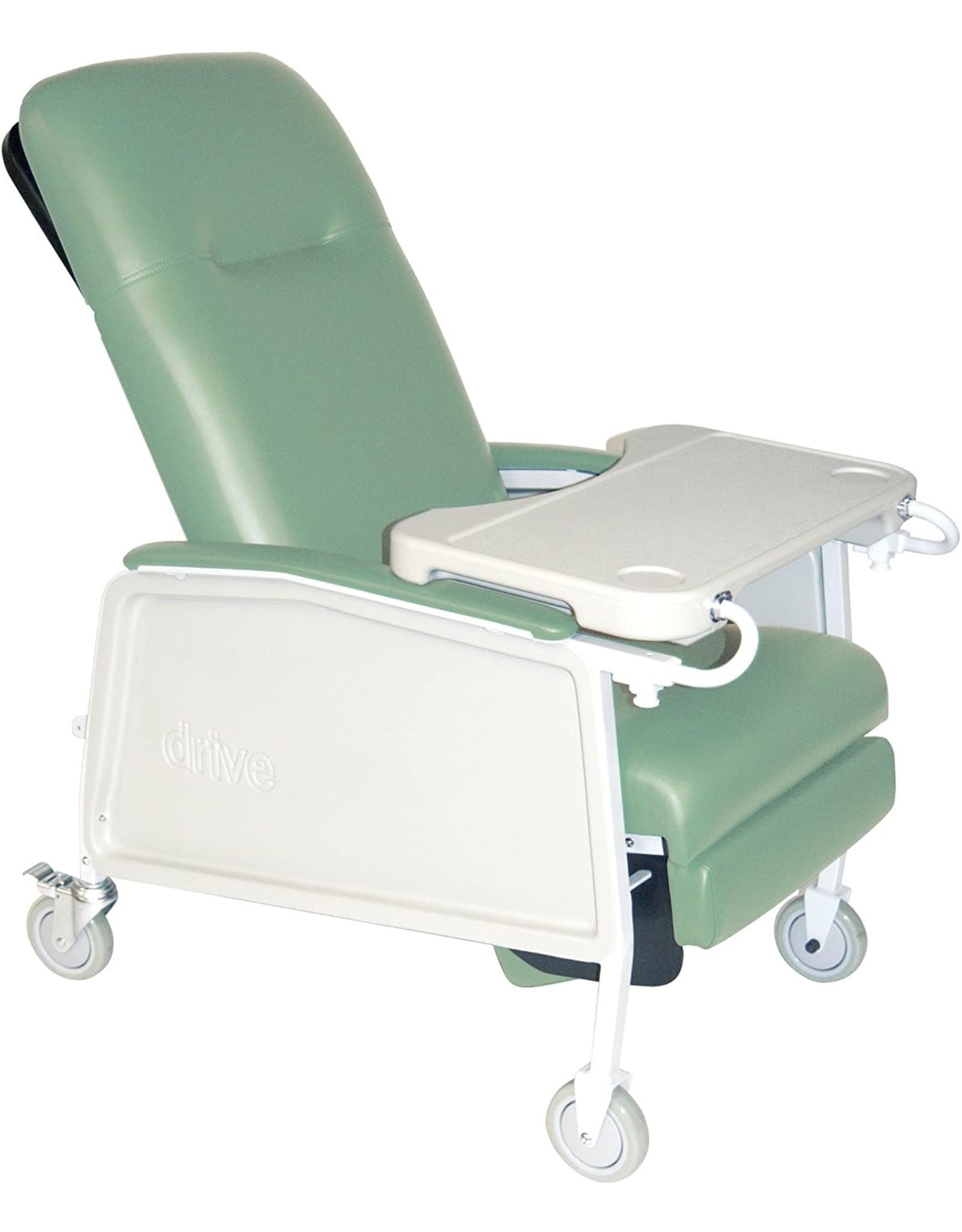 Drive Medical Drive Medical 3 Position Heavy Duty Bariatric Geri Chair Recliner, Jade