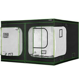 """VIVOSUN VIVOSUN 96""""x96""""x80"""" Mylar Hydroponic Grow Tent with Observation Window and Floor Tray for Indoor Plant Growing 8'x8'"""