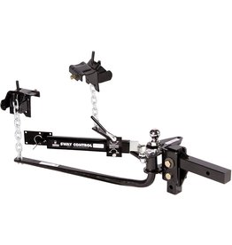 Husky Husky 30849 Round Bar Weight Distribution Hitch with Sway Control