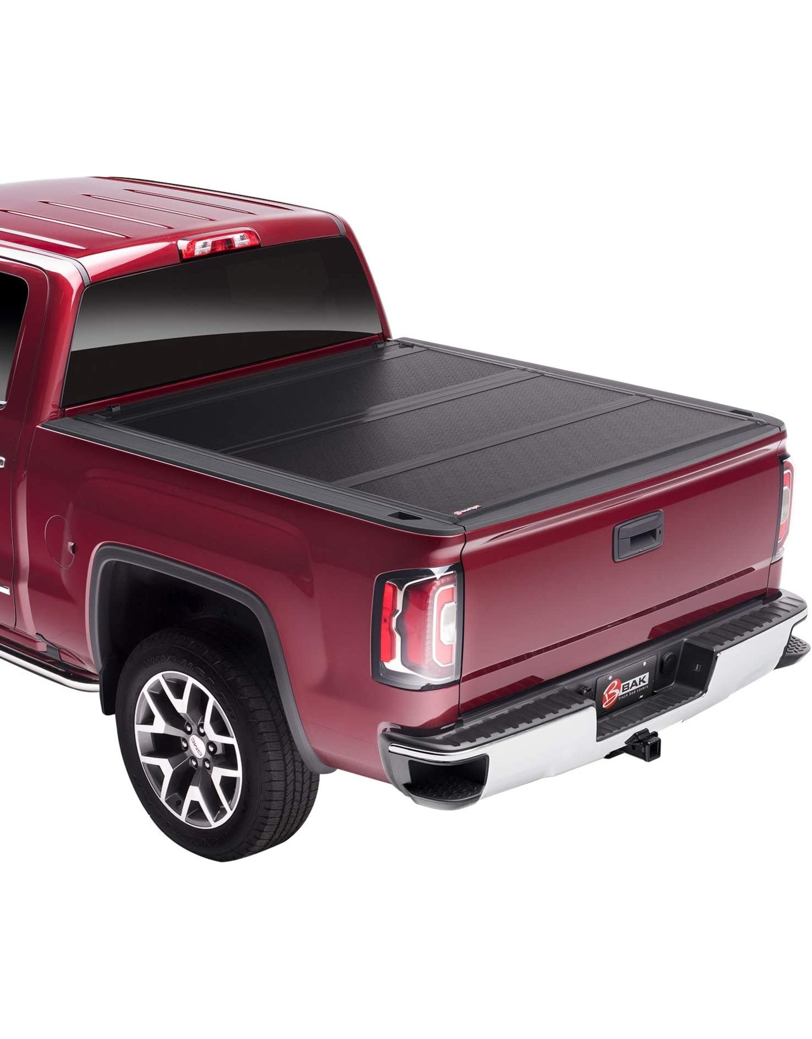 "BAK BAK BAKFlip FiberMax Hard Folding Truck Bed Tonneau Cover  1126130  Fits 2019 - 2021 GM Silverado, Sierra 1500, Will not fit Carbon Pro Bed 5' 10"" Bed (69.9"")"