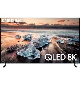 SAMSUNG Samsung QN75Q900RBFXZA Flat 75-Inch QLED 8K Q900 Series Ultra HD Smart TV with HDR and Alexa Compatibility (2019 Model)