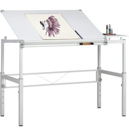 SD STUDIO DESIGNS Studio Designs Graphix II Workstation - White/Gray 10211
