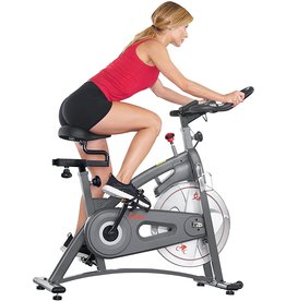 Sunny Health & Fitness Sunny Health and Fitness Endurance Magnetic Belt Drive Indoor Cycling Exercise Bike Stationary Bike - SF-B1877