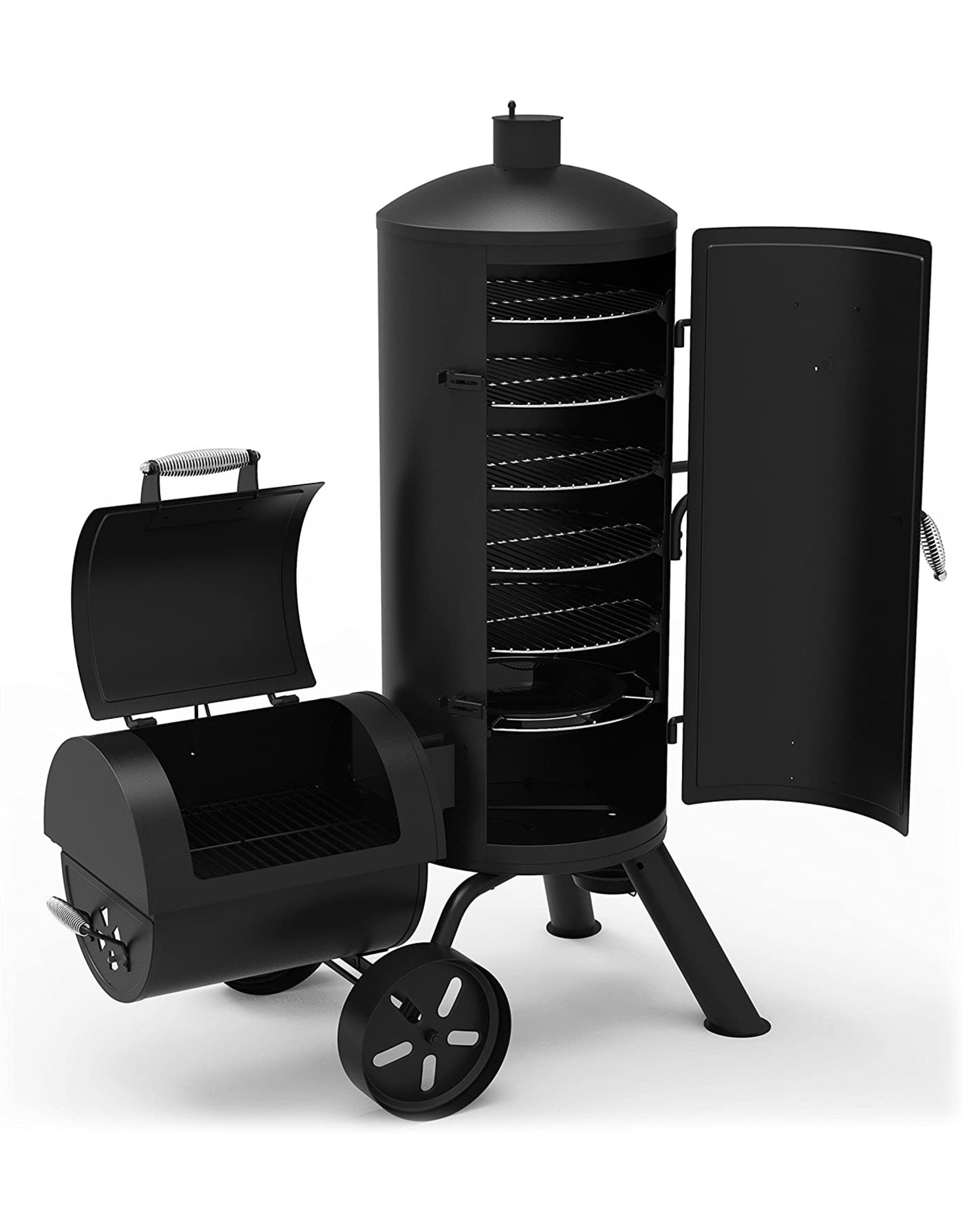 Dyna-Glo Dyna-Glo Signature Series DGSS1382VCS-D Heavy-Duty Vertical Offset Charcoal Smoker & Grill