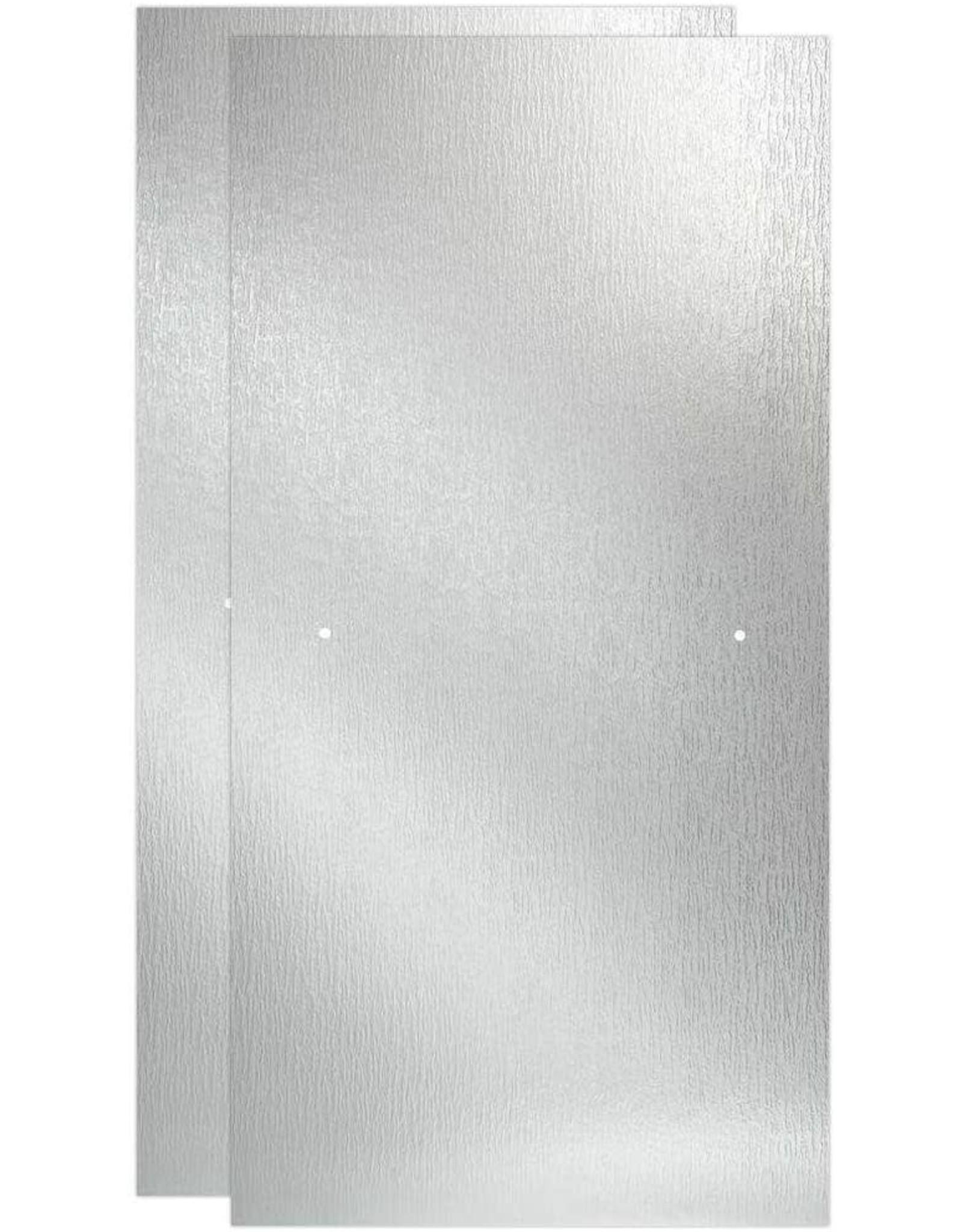 Delta 60 in. x 67 in. Sliding Shower Door Glass Panel in Rain