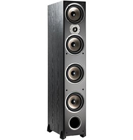 "Polk Audio Polk Audio Monitor 70 Series II Tower Speaker (Black, Single) for Multichannel Home Theater  1"" Tweeter, (4) 6.5"" Woofers  Bi-Wire & Bi-Amp"