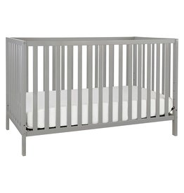 DaVinci Union 4-in-1 Convertible Crib in Grey, Greenguard Gold Certified