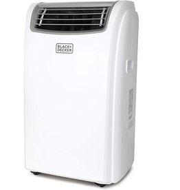 BLACK+DECKER BLACK+DECKER BPACT12WT Portable Air Conditioner with Remote Control, 5,950 BTU DOE (12,000 BTU ASHRAE), Cools Up to 150 Square Feet, White