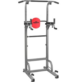 RELIFE REBUILD YOUR LIFE RELIFE REBUILD YOUR LIFE Power Tower Workout Dip Station for Home Gym Strength Training Fitness Equipment Newer Version