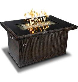 Outland Living Outland Living Series 403-Espresso Brown Fire Table, Espresso Brown/50,000 BTU