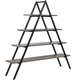 Sterling Home Sterling Home Spearhead Shelf bookcase, Black