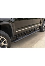 ARIES ARIES 2558002 AscentStep Black Steel 5-1/2 x 75-Inch Truck Running Boards, Select Chevrolet Silverado, Tahoe, GMC Sierra, Yukon