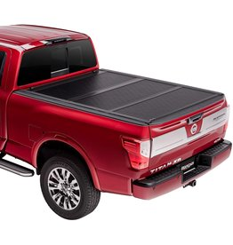 """UNDERCOVER Undercover Flex Hard Folding Truck Bed Tonneau Cover  FX51013  Fits 2016 - 2021 Nissan Titan w/ track system 5' 7"""" Bed (67"""")"""