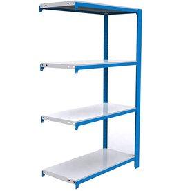 Simonrack Simonrack 8435104916612 Officlick 4/400 Metal I.M. Kit Shelf, Blue/White