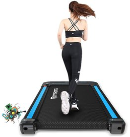 CITYSPORTS CITYSPORTS Portable Treadmill, Electric Walking Treadmills, Workout Treadmills with Bluetooth, Adjustable Speed LCD Screen & 440W Motor Silent Fitness Machine for Home/Office