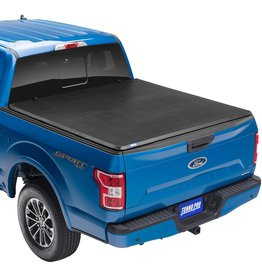 """Tonno Pro Tonno Pro Tonno Fold, Soft Folding Truck Bed Tonneau Cover  42-508  Fits 2014 - 2021 Toyota Tundra (includes track sys. clamp kit) 5'5"""" Bed (66.7"""")"""