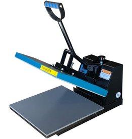 Fancierstudio Fancierstudio DG Digital Heat Press Industrial-Quality Digital 15-by-15-Inch Sublimation T-Shirt Heat Press, Black DG Heat Press Black Blue