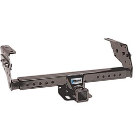 """Reese Reese Towpower 37042 Class III Multi-Fit Receiver Hitch with 2"""" Receiver opening, Black"""