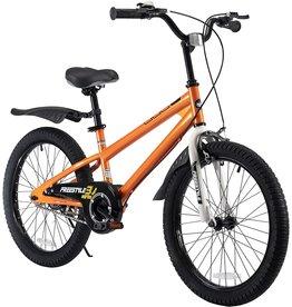 Royalbaby RoyalBaby Kids Bike Boys Girls Freestyle BMX Bicycle With Kickstand Gifts for Children Bikes 20 Inch Orange