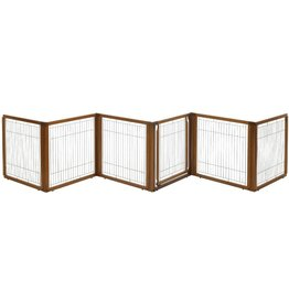 Richell Richell 3-in-1 Convertible Elite Pet Gate, 6-Panel