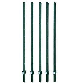 MTB MTB Sturdy Duty Fence Post U Post 6 Feet, Pack of 5…