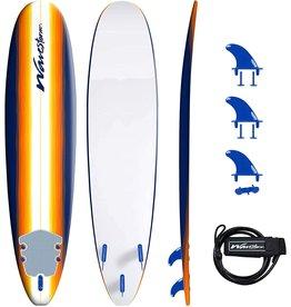 Wavestorm Wavestorm 8' Surfboard, Sunburst Graphic