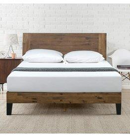 Zinus Zinus Tonja Platform Bed / Mattress Foundation / No Box Spring Required / Brown, Full