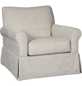 Signature Design by Ashley Signature Design by Ashley Searcy Upholstered Swivel Glider Accent Chair, Gray