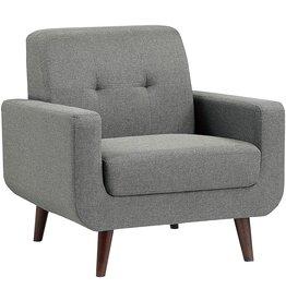 Lexicon Lexicon Linville Living Room Chair, Gray
