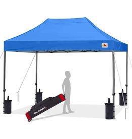 ABCCANOPY ABCCANOPY Patio Pop Up Canopy Tent 10x15 Commercial-Series (Blue)