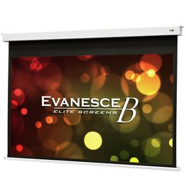 """Elite Screens Elite Screens Evanesce B, 100"""" 16:9, Recessed in-Ceiling Electric Projector Screen with Installation Kit, 8k/4K Ultra HD Ready Matte White Fiberglass Reinforced Projection Surface, EB100HW2-E12"""