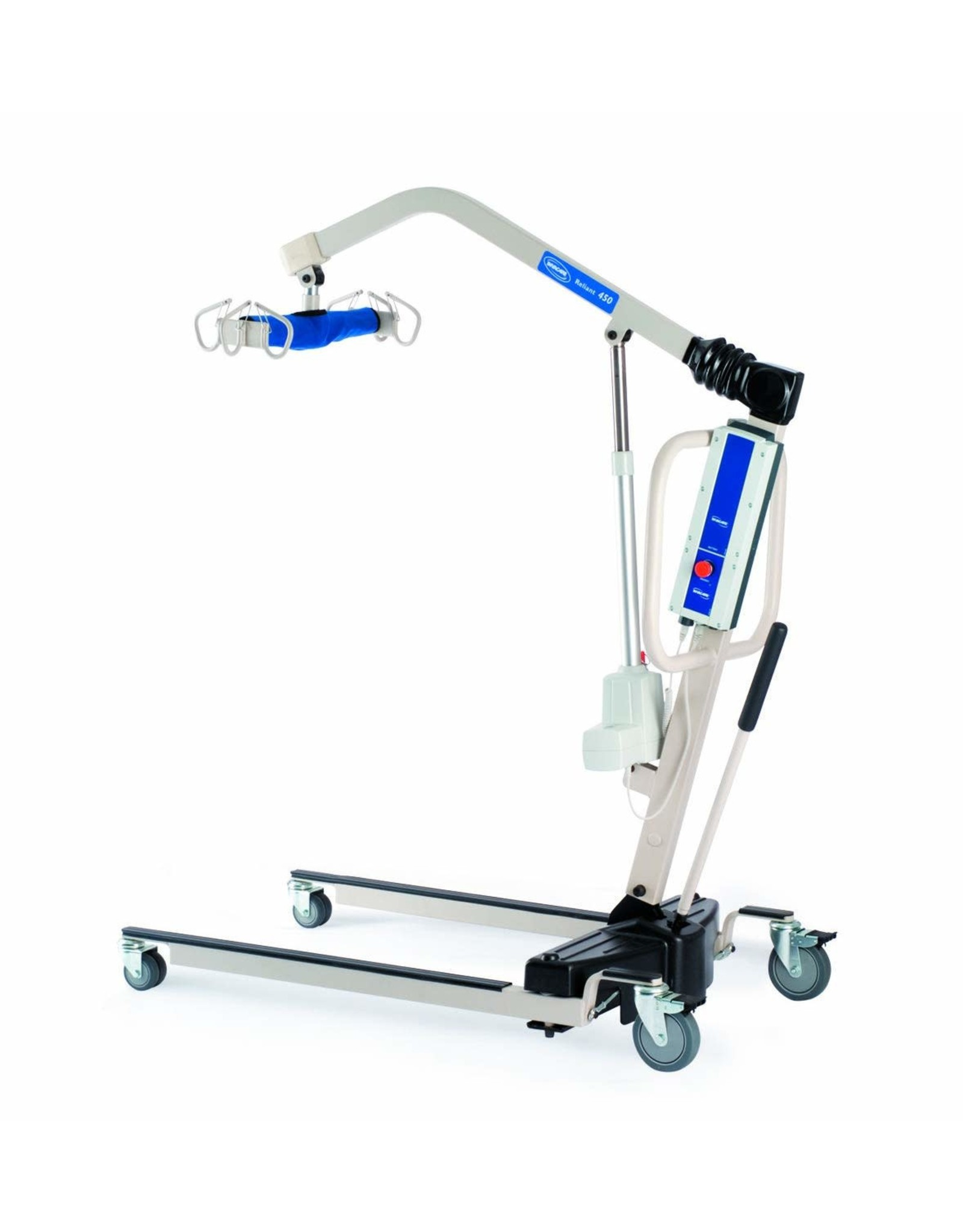 Invacare Invacare Reliant Battery-Powered Patient Lift with Manual Low Base, 450 lb. Weight Capacity, RPL450-1