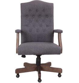 Boss Office Products Boss Office Products Executive Commercial Swivel Chair, Slate Grey