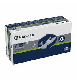 HALYARD HALYARD STERLING SG Exam Gloves, Powder-Free, Sensi-Guard, 3.5 mil, X-Large, 41662 (Sold as Case of 10 boxes of 230 Gloves per Box)