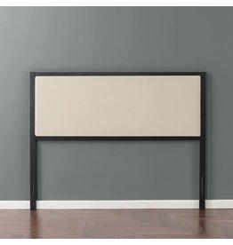 Zinus Zinus Kendal Taupe Upholstered Metal Headboard, Full