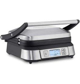 """Cuisinart Cuisinart GR-6S Contact Smoke-Less Mode Griddler, 11.5""""(L) x 10.5""""(W) x 7.0""""(H), Silver"""