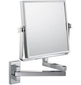 "Aptations Aptations Chrome 9 1/2"" x 11 3/4"" Vanity Wall Mirror"