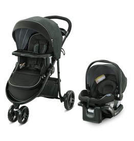 Graco Graco Modes 3 Lite DLX Travel System, West Point