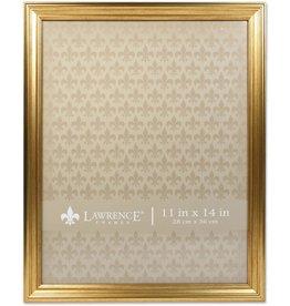 Lawrence Frames Lawrence Frames 536211 11x14 Sutter Burnished Gold Picture Frame