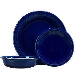 Fiesta Fiesta 3-pc. Classic Dinnerware Set Cobalt
