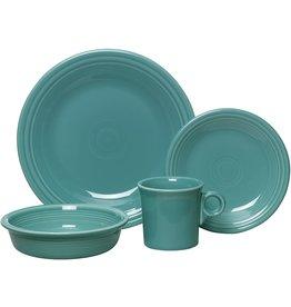 Fiesta Fiesta 4-Piece Dinnerware Place Setting, Turquoise