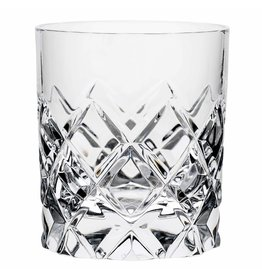 Orrefors Orrefors Sofiero 8.44 Ounce Old Fashioned Glass, Pair , Clear -