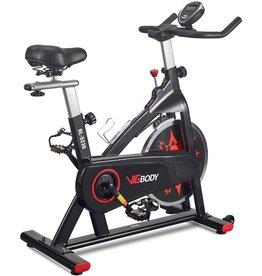 VIGBODY VIGBODY Exercise Bike Indoor Cycling Bike Adjustable Stationary Bicycle for Home Gym Workout Cardio Bikes Upright Bike