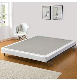 Spinal Solution Spinal Solution 4-Inch Low Profile Wood Traditional Boxspring/Foundation, Full