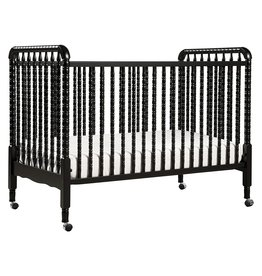 DaVinci DaVinci Jenny Lind 3-in-1 Convertible Crib in Ebony - 4 Adjustable Mattress Positions, Greenguard Gold Certified