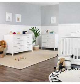 DaVinci DaVinci Charlie 6-Drawer Dresser in White